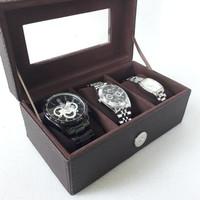 Kotak jam tangan isi 3 full color termurah