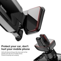 Baseus Air Vent Smartphone Car Holder Mobil - Sujxs-01