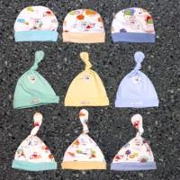 Topi Bayi Libby (0-12 Bulan) Unisex Polos   Motif 60354cf41e