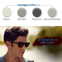 Lensa Kacamata Berubah Warna Original Transition Xtractive Essilor