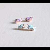 Diskon Anting Unicorn Lucu Murah Grosir Clay Korea Import Giwang Anak
