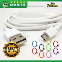 Kabel Data Charging Charger Micro USB Cable HP Xiaomi Samsung Oppo 1m