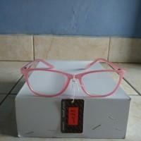 !765 kacamata anti radiasi handphone dan komputer cat eyes pink  2446595df7