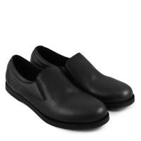c4892070fa8 Sauqi Footwear Gofe Hitam Sepatu Loafers Pria Kulit Asli