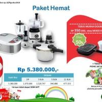 Vienta Paket Hemat , Food Processor, Smart Cooker, Pressure Coocker