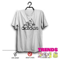 Kaos Adidas Logo Tribal Replika Putih wfcloth