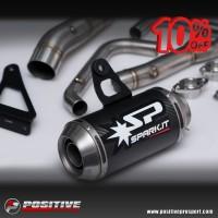 Spark Exhaust Full System carbon for Ninja 250R Fi