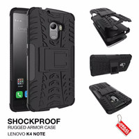 Tough Rugged Armor Case with Build in Stand for Lenovo Vibe K4 Note