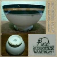 Mangkuk Porselen Pita Hijau Maastricht Barang Oke
