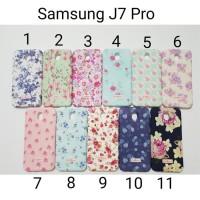 case Softcase CK Flower Samsung J7 Pro 2017 / Soft case J730 J7pro