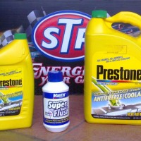 PRESTONE PACKAGE Antifreeze Radiator COOLANT GALON LITER MASTER FLUSH