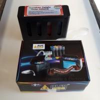 Tabung infus + tinta ori Alfa ink komplit modif ekslusif printer Canon