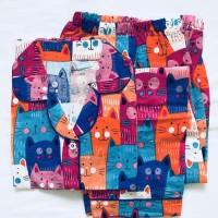 Baju tidur piyama dewasa hello kitty celana panjang 245