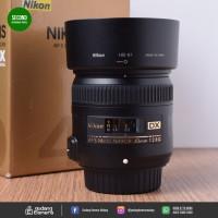 [SECONDHAND] Nikon AFS 40mm f2.8G Micro - 4093 @Gudang Kamera Malang