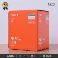 [NEW] SONY FE 50mm f/1.8 @Gudang Kamera Malang