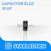 Kapasitor Elco Capasitor 10 uF 10uF 50V