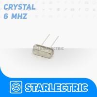 Crystal Oscillator Xtal 6 Mhz 6Mhz