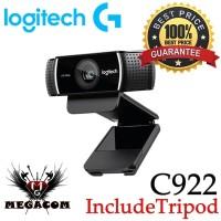 Logitech C922 Pro Stream Webcam Full HD 1080P Baru