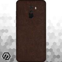[EXACOAT] Pocophone F1 Skin / Garskin - Leather Brown
