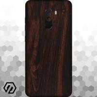 [EXACOAT] Pocophone F1 3M Skin / Garskin - Wood Mahogany