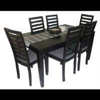 Meja makan,set kursi makan,kursi makan jati
