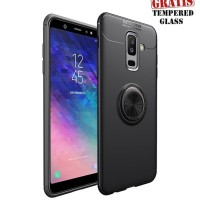 Softcase TPU iRing Invisible Cover Case Casing HP Samsung A6 Plus 2018