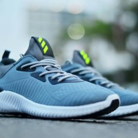 cead28a8c Free Bonus !!! Sepatu Pria Casual Running Adidas Alphabounce