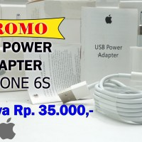 USB POWER ADAPTER Iphone 6s Promo cuci gudang istimewa New