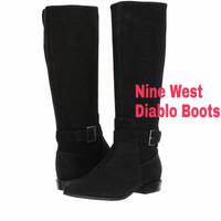 Sepatu Boots Kulit Asli Nine West