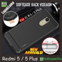 Softcase TPU Viseaon Carbon Fiber Case Cover Casing HP Infinix Note 4