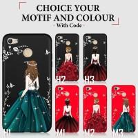 Softcase TPU Girl Dress Slim Matte Case Casing Cover Xiaomi Redmi 5A