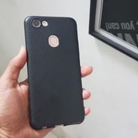 Softcase TPU Black Matte Kulit Jeruk Cover Case Casing Oppo F5 A73 A79