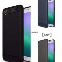Softcase TPU Carbon Fiber Slim Case Casing Cover HP Oppo F1 Plus R9