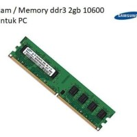 MEMORY / RAM SAMSUNG DDR3 2GB