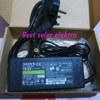 Harga adaptor tv led sony bravia 19 22 24 32 42 volt 19 5v 4 | Hargalu.com