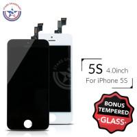 LCD IPHONE5S / IPHONE 5S / 5SE + TOUCHSCREEN + FRAME FULLSETT ORI
