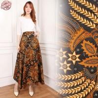 novela rok lilit payung batik long skirt