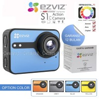 EZVIZ S1c Action Camera Full HD LCD Touch Screen WiFi Original