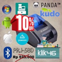 PANDA PRINTER BLUETOOTH USB ANDROID PPOB THERMAL 58MM
