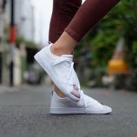 Sepatu Cewek Keren ORIGINAL Adidas Neo Advantage White Rose Gold Toe dddd39b402