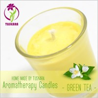 Lilin Aromaterapi Tuskara - Green Tea