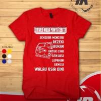 Kaos T-shirt Mobil L300 Driver Muda Punya Cerita Murah -Tac