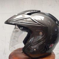Helm Dewasa Ukuran Besar XL XXL Warna Abu Tua
