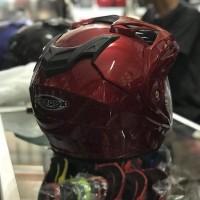 Helm Half Face ukuran XL XXL Transformer Merah