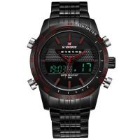 Promosi NFWS06BQ Watch Navi Force Jam Tangan Analog Digital Pria 9024