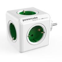 Allocacoc PowerCube Original Stop kontak Steker Listrik - Hijau
