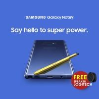 Samsung Galaxy Note 9 128gb/6gb Garansi Resmi FREE Logitech X50