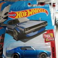 S0013-HOT WHEELS / HOTWHEELS-NISSAN SKYLINE 2000 GT-R-BIRU