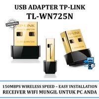 TP-LINK TL-WN725N Nano USB Wireless Adapter 150 Mbps tplink 725 725n