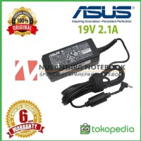 Adaptor/Charger Original Laptop Asus 19V 2.1A colokan kecil plus kabel